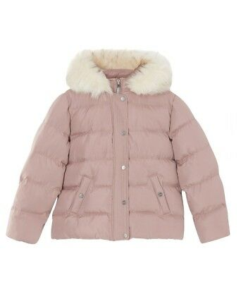 NEW Lipsy Girl Faux Fur Padded Coat 4 Years (104cm)