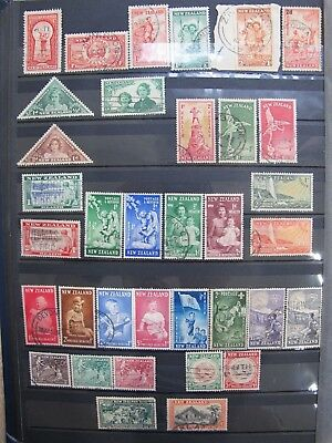 New Zealand Pre-Decimal Health Stamps Album Collection Surcharged Rare       Nz