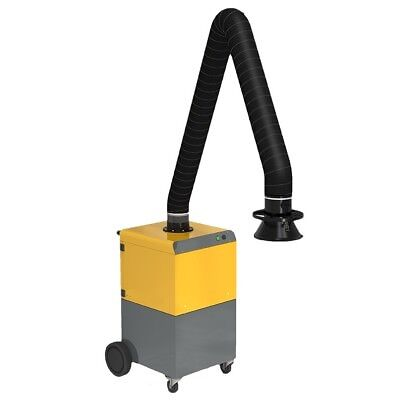 Mobile Fume Extraction Unit / Portable Fume Extractor Single Phase £1500 +Vat!