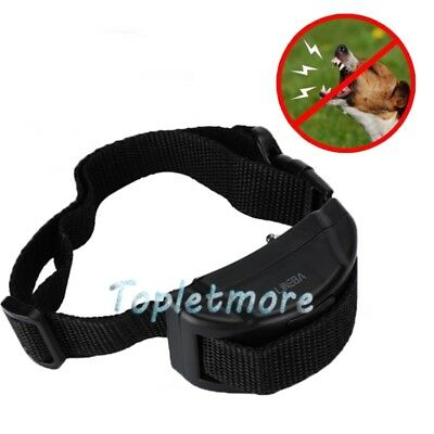 Anti Bark No Barking Tone Shock Control Training Collar for Small Medium L Dog