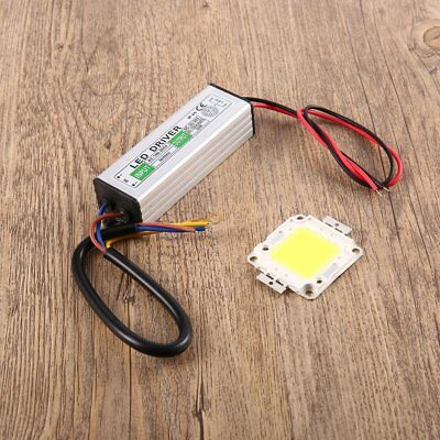 50W LED SMD Chip Bulbs+LED Driver Power Supply Switch For LED Strip Lights