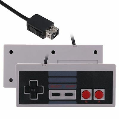 2x Nintendo NES Style Classic Controller for New NES Mini Console, Wii, Wii U