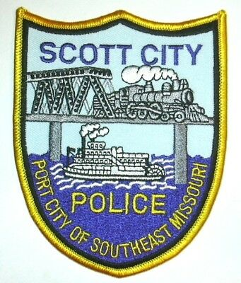 ecusson police USA SCOTT us police patch