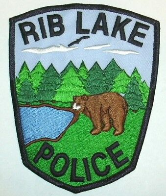 ecusson police USA LAKE RIB LAKE us police patch