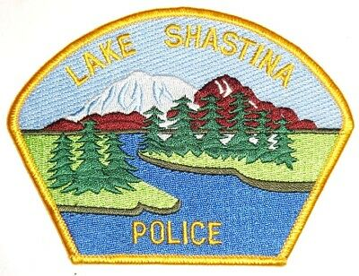 ecusson police USA LAKE SHASTINA us police patch