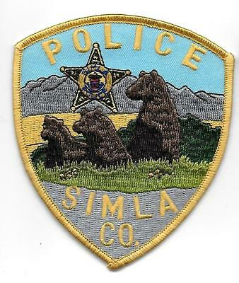 ecusson police USA SIMLA us police patch