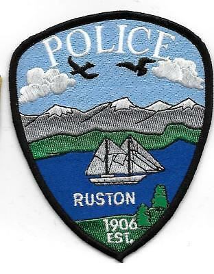 ecusson police USA RUSTON us police patch