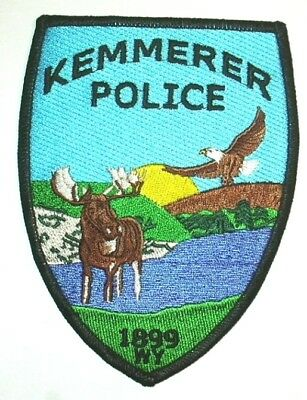 ecusson police USA KEMMERER us police patch