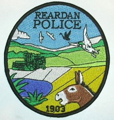 ecusson police USA REARDAN us police patch