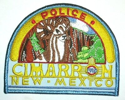 ecusson police USA CIMARRON us police patch