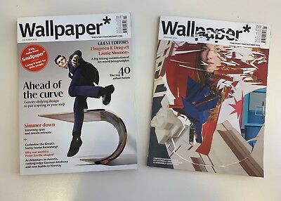 Wallpaper* Magazine - Bundle of various back issues: 2005, 2009-2016, 2017
