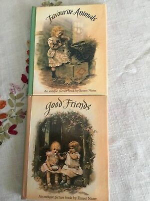 2 X Ernest Nister Reproduction Pop Up/ Twisting Books, Pre Owned