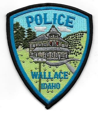 ecusson police USA WALLACE us police patch
