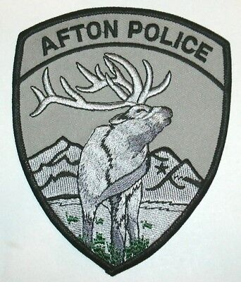 ecusson police USA AFTON us police patch