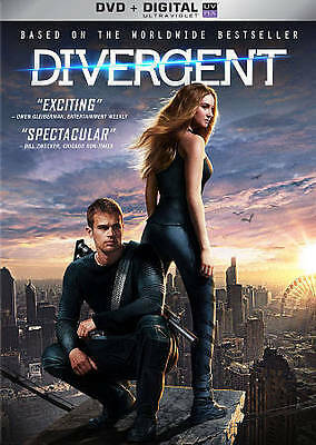 Divergent (DVD, 2014 Includes Digital Copy) BRAND NEW!