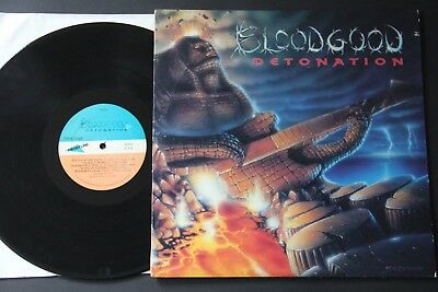 Bloodgood ‎– Detonation LP 1st PRESS HEAVY METAL 1987 RO9019 Stryper