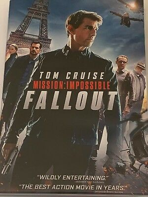 Mission Impossible Fallout  Tom Cruise DVD