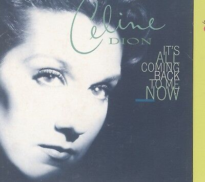 Celine Dion - It's All Coming Back To Me Now Card Sleeve promo CD