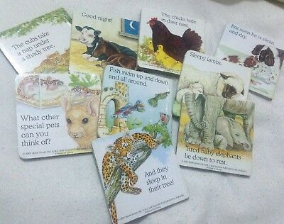 Set Of 9 My Little Book About ... (Animals)