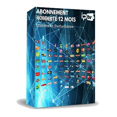 12 MOIS D'ABONNEMENT IPTV Full HD M3U MAG ANDROID BOX SMART TV + 5000 CH et VOD