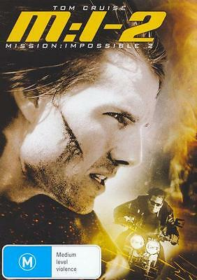Mission Impossible 2 (M:i-2) - Brand New & Sealed Region 4 Dvd (Tom Cruise)