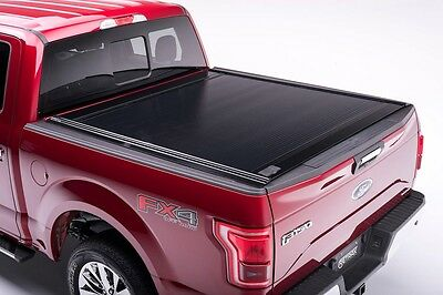 Ford F 150 Raptor Pickup Laderaumabdeckung Retrax One MX schwarz Matt