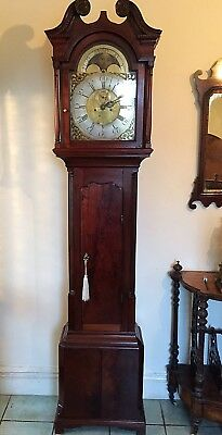 An important George II Annual Calendar Longcase Clock by Thomlinson of Liverpool