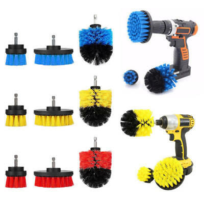 3Pcs/Set Tile Grout Power Scrubber Drill Brush Attachment Tub Cleaning Tool Kit