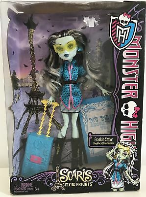 Monster High Frankie Stein Scaris City of Frights Travel Doll VGC