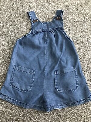 Baby Girls Gap Shorts Dungarees Age 18-24 Months Summer Clothes