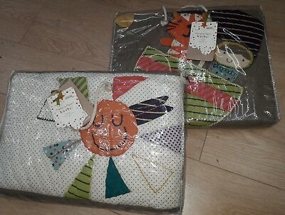Mamas & Papas Cotbed Coverlet & Bumper. BRAND NEW WITH TAGS!! CHEAP!!