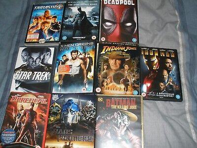 Joblot of fantasy dvds