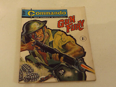 Commando War Comic Number 24 !!,1962 Issue,v Good For Age,57 Years Old,very Rare