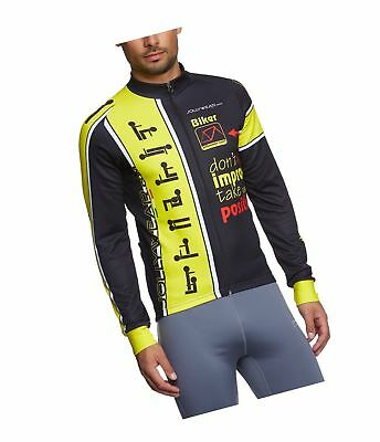 XL JOLLY WEAR Cycling Jacket Lined For Warmth And Wind Resistance ... 07d8cc9b9