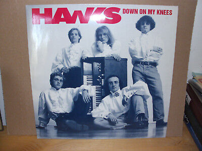 The Hawks - Down On My Knees  Vinyl-LP with original insert