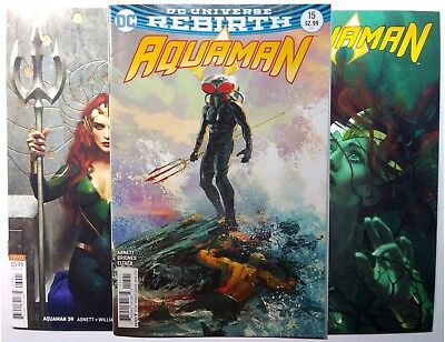 Aquaman 15 32 and 39 Middleton Classic Variants First Print NM/NM+ Lots of Pics!