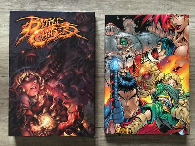 Image Comics BATTLE CHASERS Anthology HARDCOVER Signed & Numbered Edition OOP