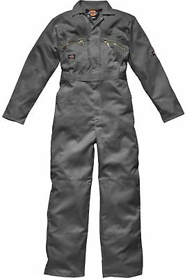 Mens Dickies Redhawk Coverall Overall Poly Cotton Boiler Suit WD4839 - Zip Front