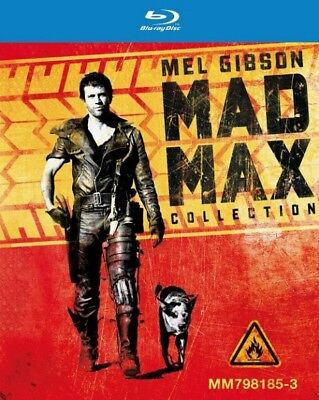 Mad max l'intégrale BLU-RAY NEUF SOUS BLISTER