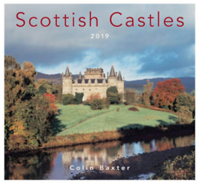 Colin Baxter, Scottish Castles Photography 2019 Calendar 