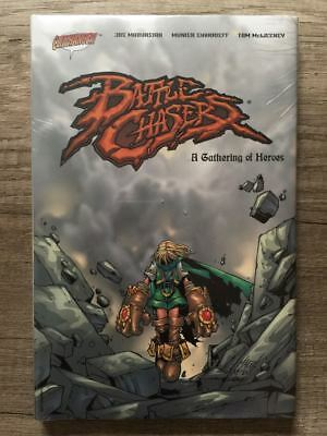 Image Comics BATTLE CHASERS A Gathering of Heroes US HARDCOVER OOP New & Sealed