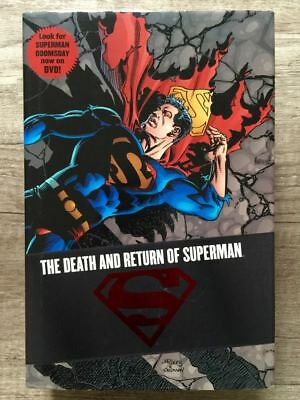 DC Comics THE DEATH AND RETURN OF SUPERMAN Omnibus HARDCOVER 1st print HC OOP