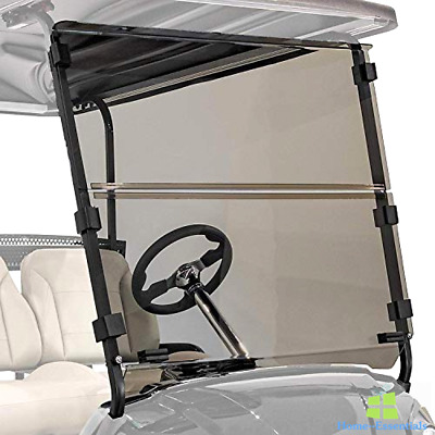 Golf Cart Windshield Tinted Folding Replacement Part Accessories Foldable Shield