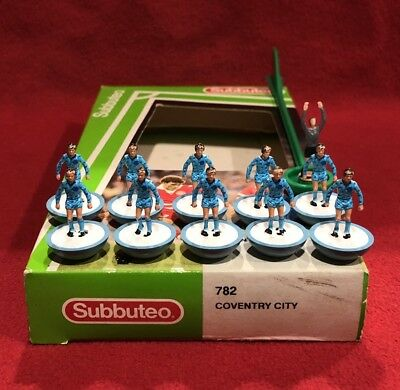 Subbuteo 63000 782 Coventry City Football Sports Game Vintage