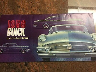 Vintage 1956 Buick Dealers 25 page color brochure