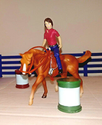 Breyer Stablemates Lot of 5 Includes Rider, Horse & MORE **Pre-Owned
