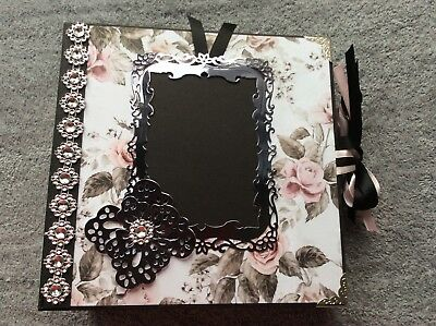 Prima handmade mini album, photo, memory album, wedding, baby, love