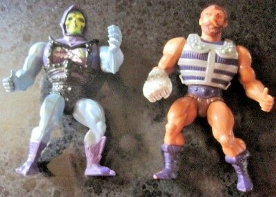 Vintage He-Man Masters Of The Universe Vintage Fisto & Skeletor Action Figure