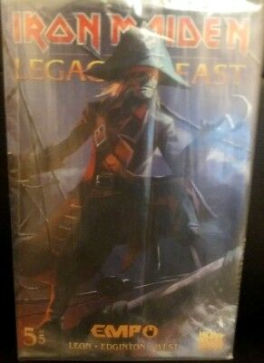 Iron Maiden Legacy Of The Beast #5 (Rare EMP Numbered Edition Comic)