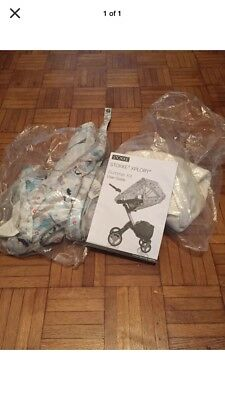 Stokke xplory summer kit Blue Floral With Fish